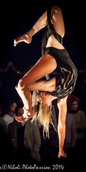 Aerial Dance – Christmas Night